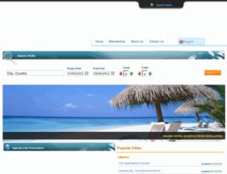 traveltoweb.com screenshot