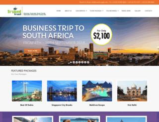 traveltrustgh.com screenshot