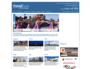 traveltura.eu screenshot