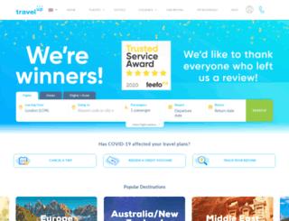 travelup.co.uk screenshot