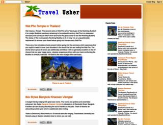 travelusher.blogspot.com screenshot