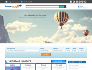 travelvacanza.com screenshot