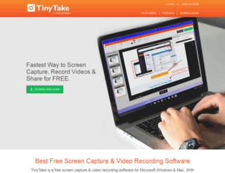 travelwatch.tinytake.com screenshot