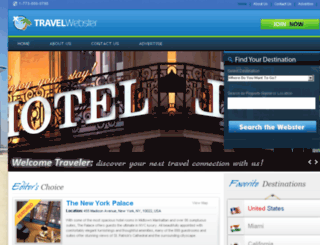 travelwebster.com screenshot