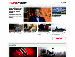 travelweekly.co.uk screenshot