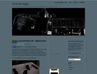travelwithgadgets.com screenshot