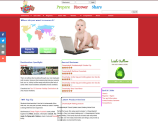 travelwithtots.com.au screenshot