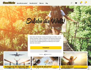 travelworks.co.uk screenshot