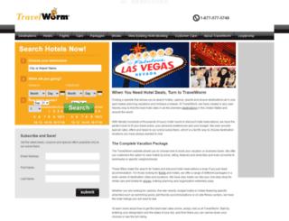 travelworm.com screenshot