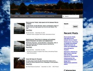 travelwritersmagazine.com screenshot