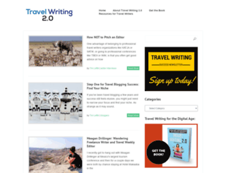 travelwriting2.com screenshot