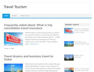 travelxtourism.com screenshot