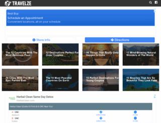 travelze.com screenshot