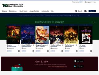 traversedslsmn.libraryreserve.com screenshot