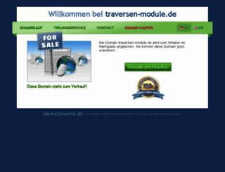 traversen-module.de screenshot