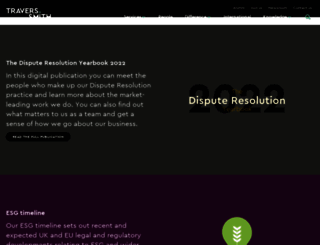 traverssmith.com screenshot