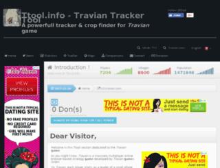 travian-cl.ttool.info screenshot