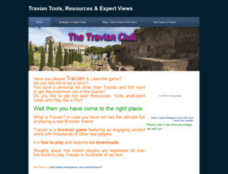 travianclub.weebly.com screenshot