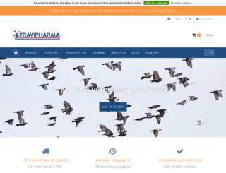 travipharma.com screenshot