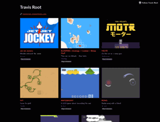 travis-root.itch.io screenshot