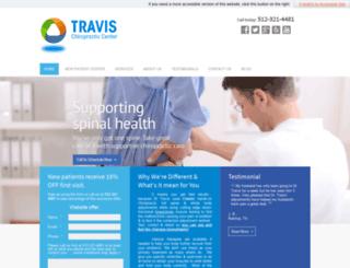 travischiropracticcentercom.chiromatrixbase.com screenshot