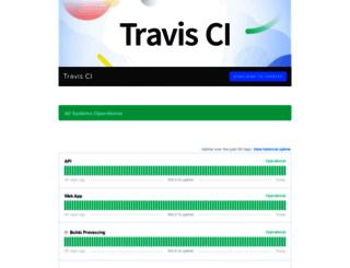 traviscistatus.com screenshot