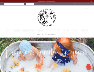 travisfamilyfarm.com screenshot