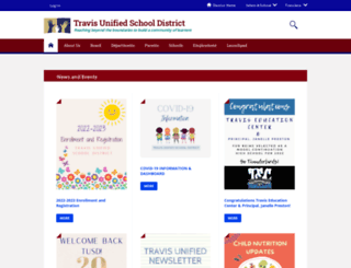travisusd.org screenshot