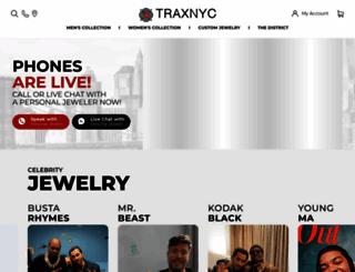 traxnyc.com screenshot