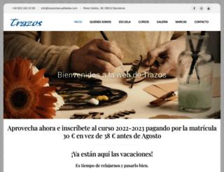 trazosmanualidades.com screenshot