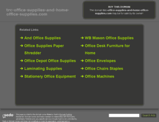 trc-office-supplies-and-home-office-supplies.com screenshot