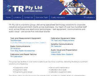 trcorporation.com screenshot