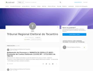 tre-to.jusbrasil.com.br screenshot