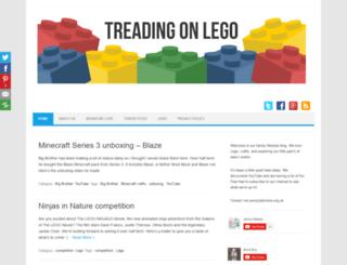 treadingonlego.com screenshot