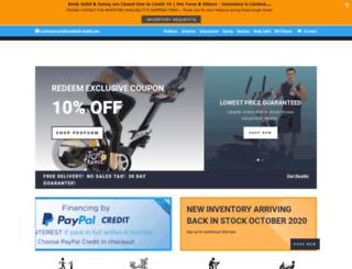 treadmill-world.com screenshot