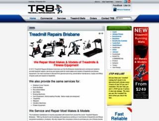 treadmillrepairsbrisbane.com screenshot