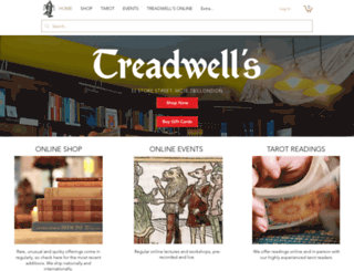 treadwells-london.com screenshot