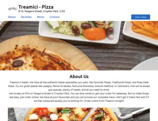 treamici.com.au screenshot