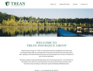 treanunderwriting.com screenshot