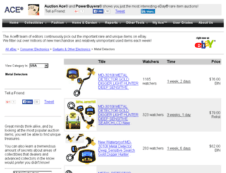 treasure.com screenshot