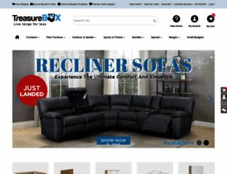treasurebox.co.nz screenshot