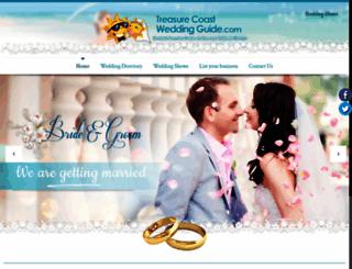 treasurecoastweddingguide.com screenshot