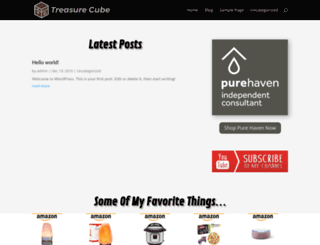 treasurecube.net screenshot