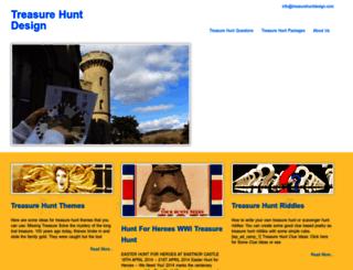 treasurehuntdesign.com screenshot