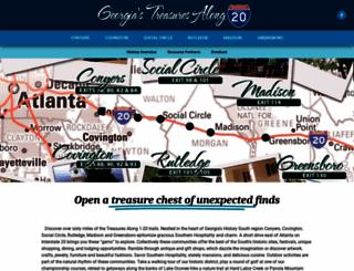 treasuresalongi20.org screenshot