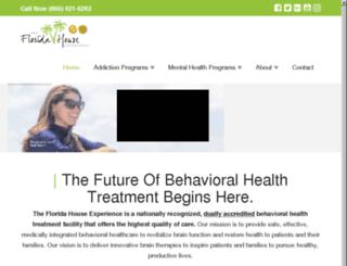 treatmentcenters.floridahouseexperience.com screenshot