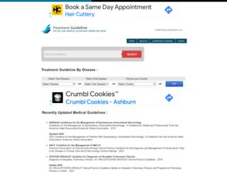 treatmentguideline.com screenshot