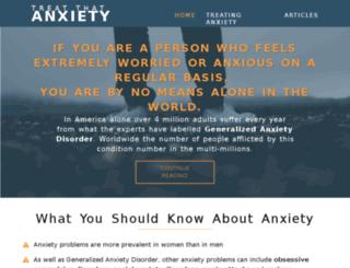 treatthatanxiety.com screenshot