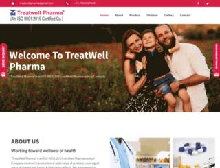 treatwellpharma.in screenshot