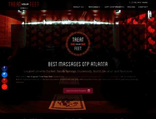 treatyourfeetatl.com screenshot